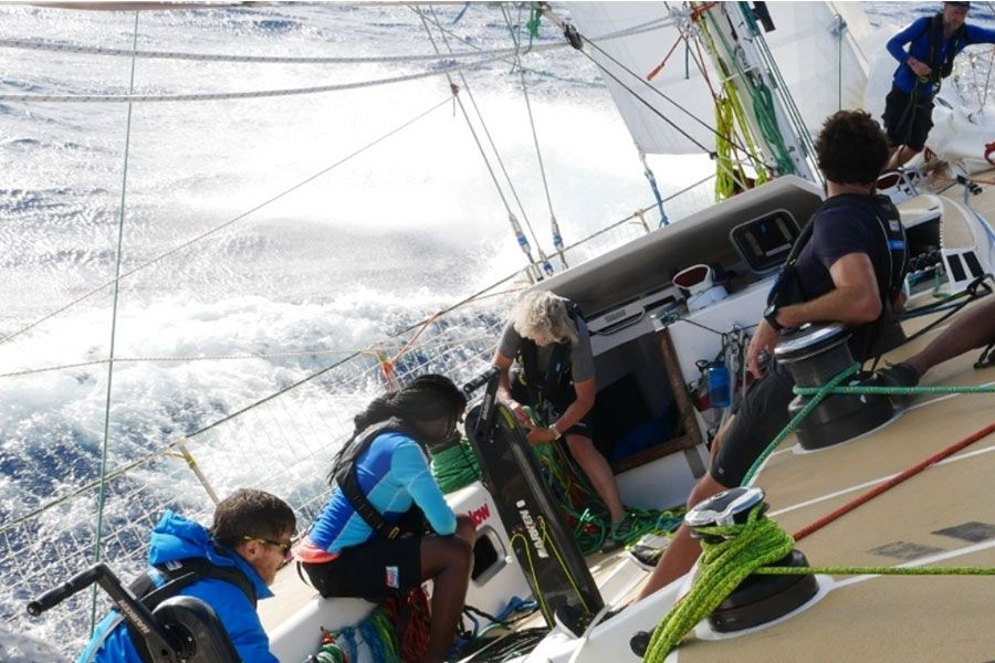 Clipper Round the world - race 2 day 15 - Southern Hemisphere beckons