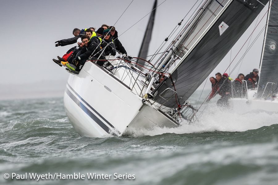 HYS Hamble Winter Series, Race Week 1, results