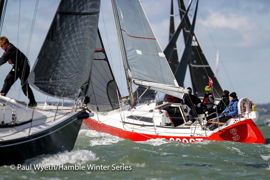 HYS Hamble Winter Series Week 1 & Autumn IRC Championships