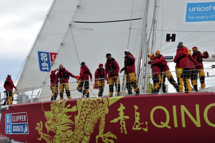 Clipper Race - Chinese Teams Take Line Honours Into Punta Del Este