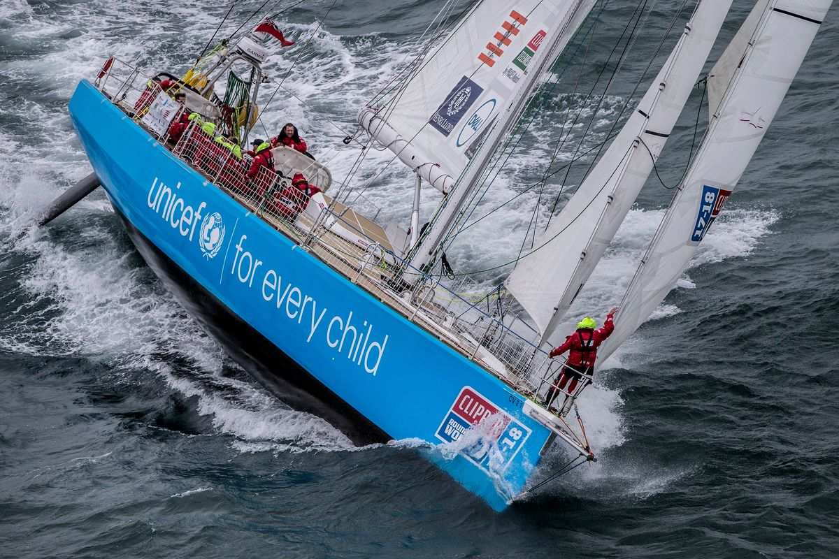 Clipper Race: Unicef heading to Durban for Medevac
