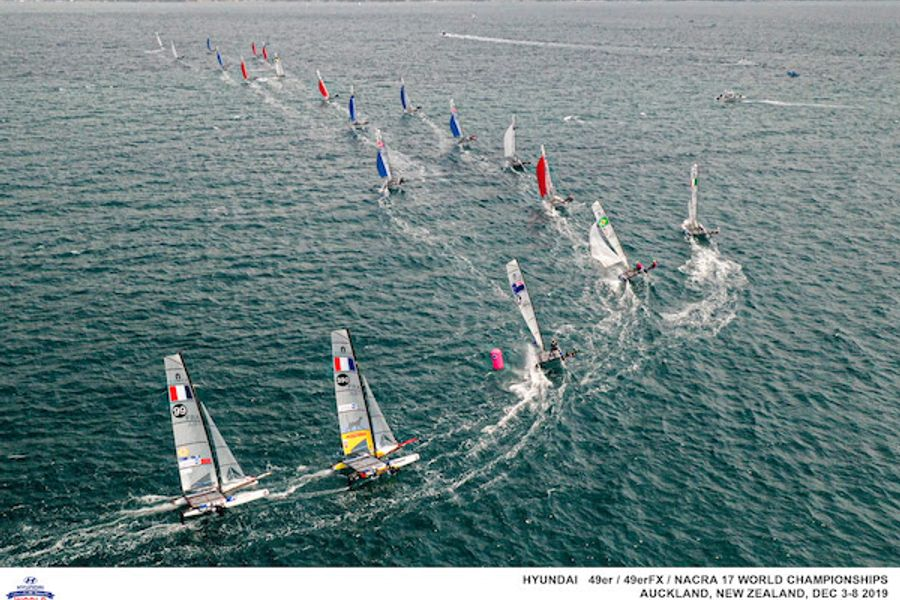 49er Worlds: Regatta leaders head into final day of competition