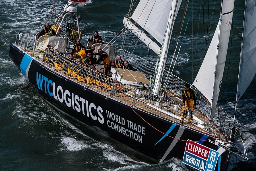 Changes to WTC Logistics crew from Clipper Race Leg 4