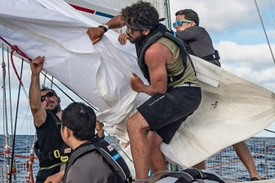 Another Clipper Race day brings new arrival into Fremantle, Australia