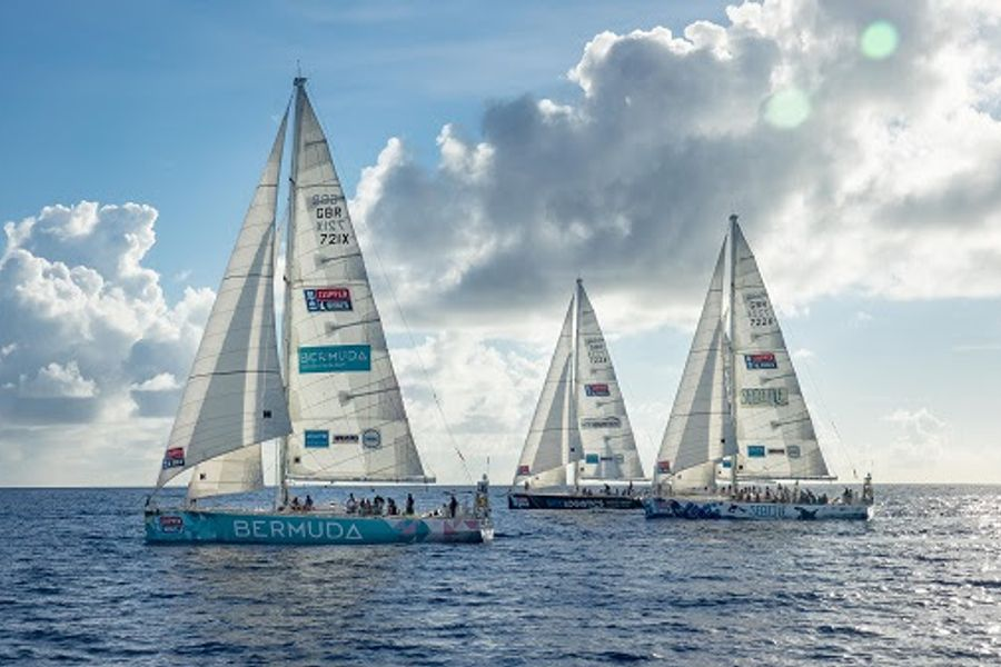 Clipper Race crews play the wind lottery on Sanya Tropical Paradise Race