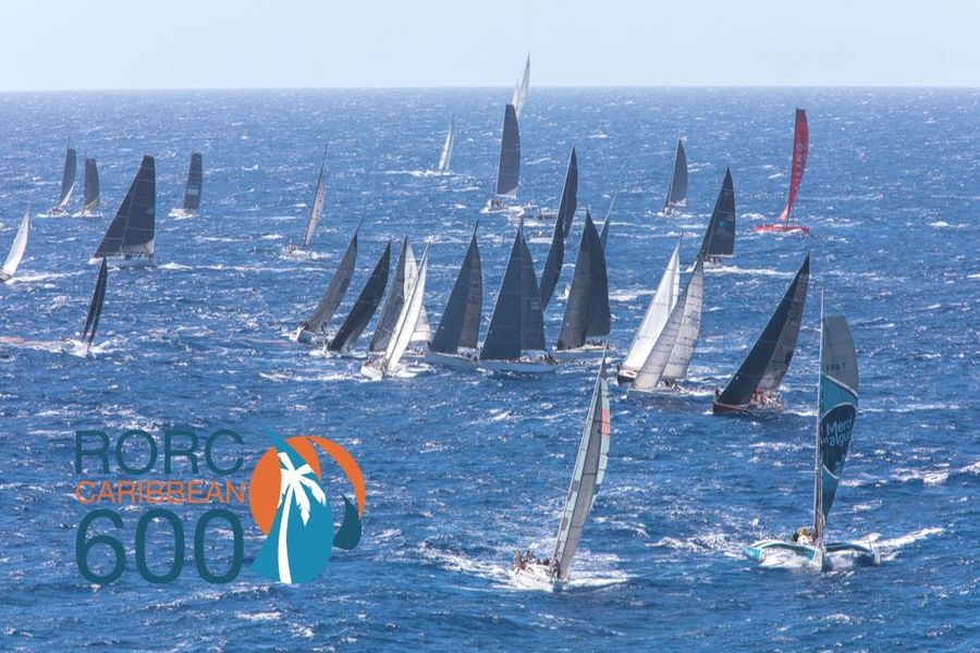 37 Nations gather for RORC Caribbean 600: Antigua Mon 24 Feb