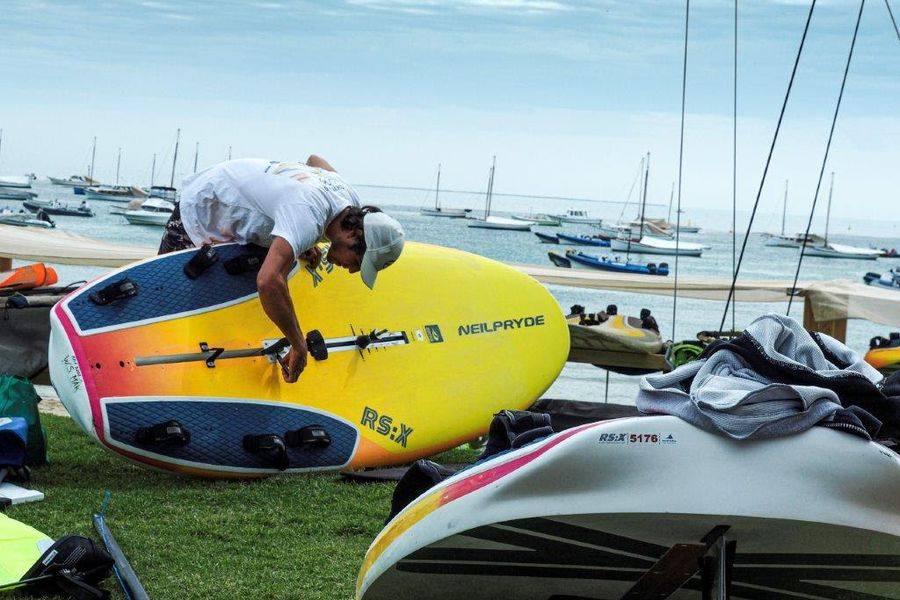 RS:X Windsurfing World Championships in Sorrento, Australia