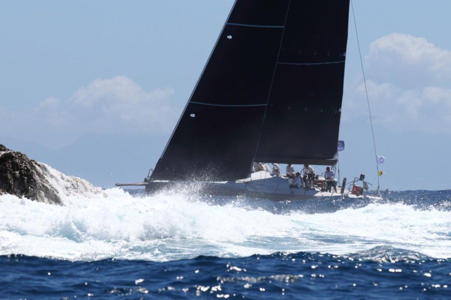 Day 2 of the  RORC Caribbean 600 sees a North South divide