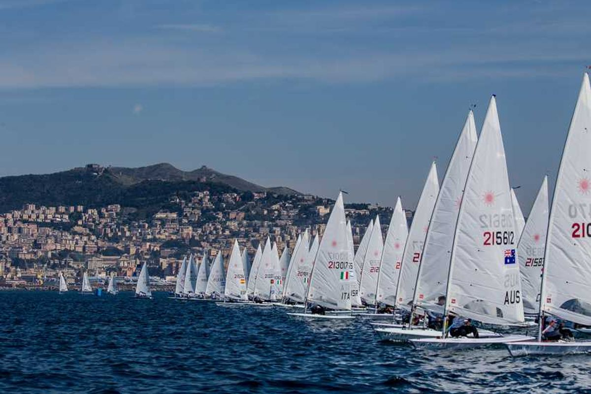 World Sailing cancels Hempel World Cup Series Genoa Olympic qualifier