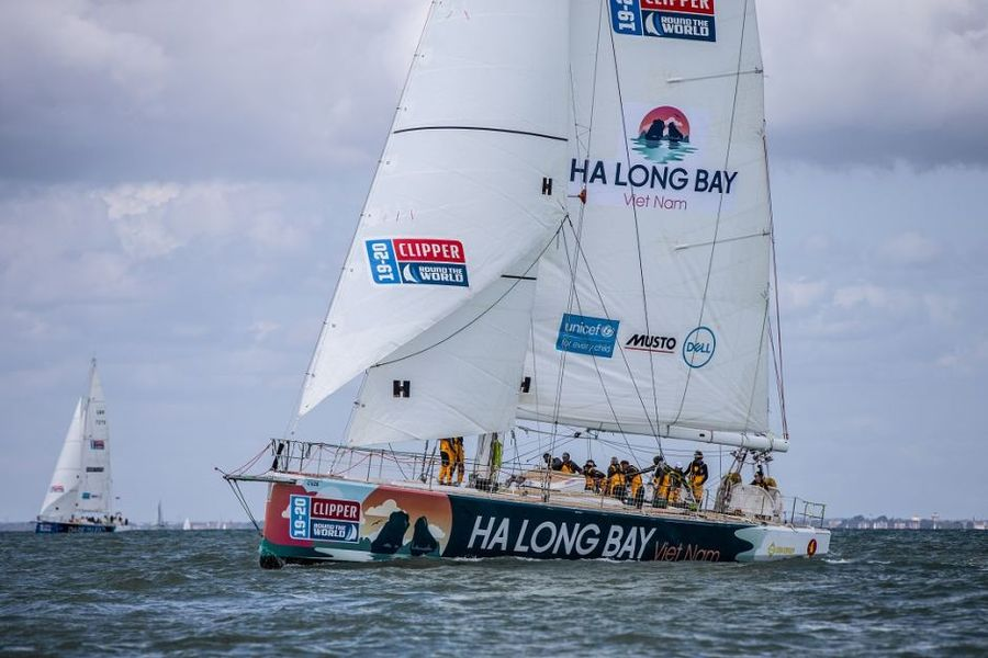 Ha Long Bay, Viet Nam tops Clipper Race 9 podium