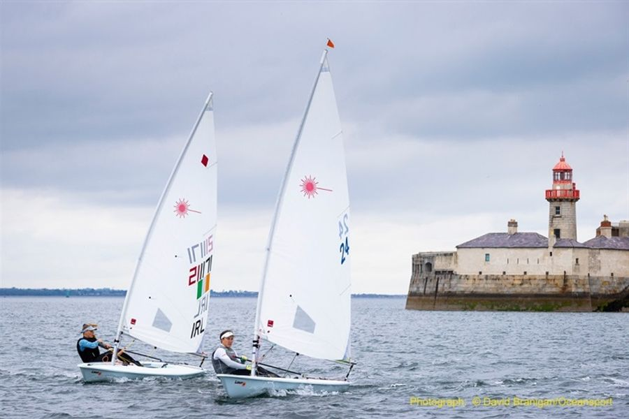 Irish Sailing Team back on the water