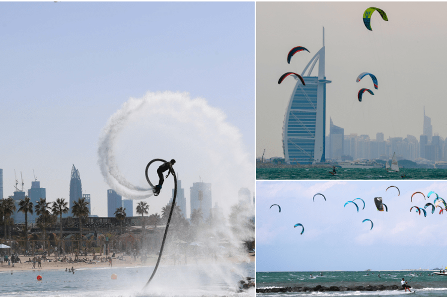 Watersports return to Dubai