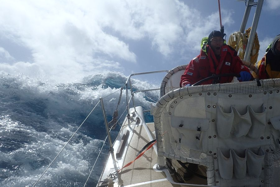 Clipper Race:  Reflections On The North Pacific Ocean