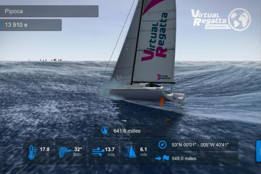 Dry run the new Rolex Fastnet Race course with Virtual Regatta