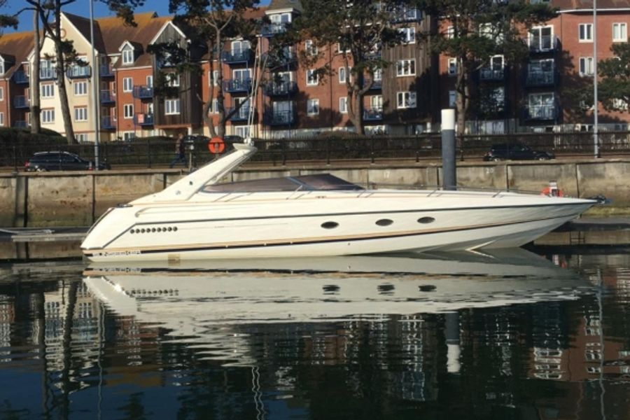 Cruise into summer with an Ex-Sir Roger Moore Sunseeker powerboat
