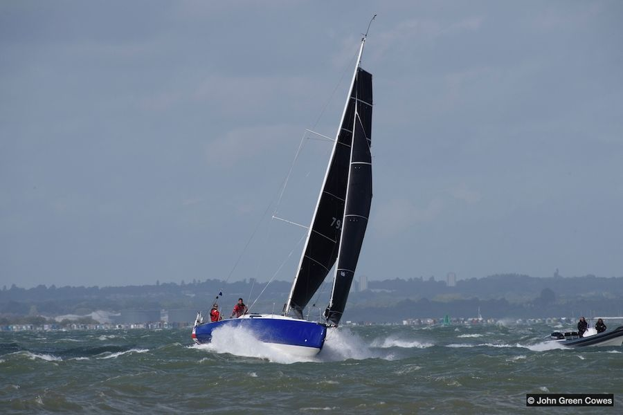 Fastrak XII Scorches To RORC's Summer Series Race 3 Victory
