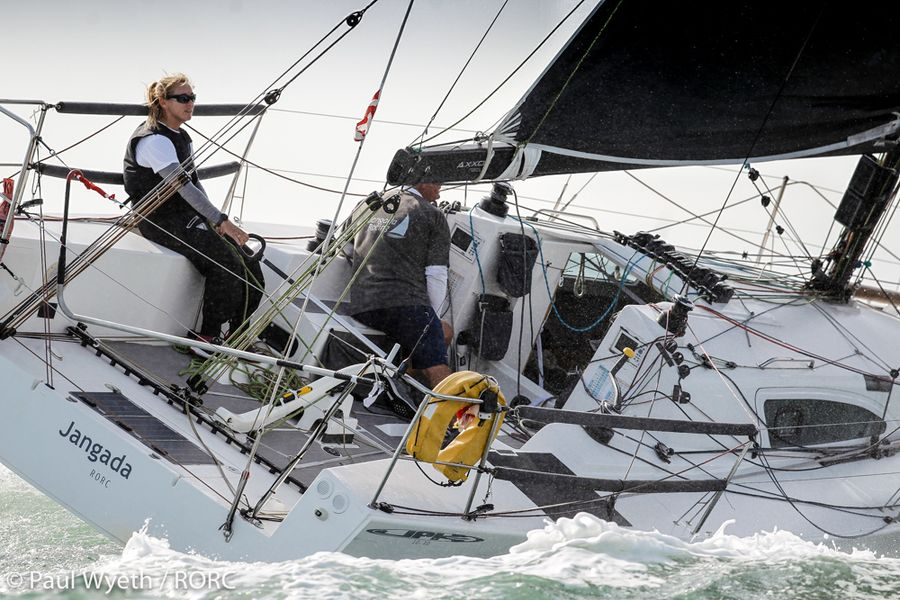 Shaking it up on day two of the RORC's IRC Nationals