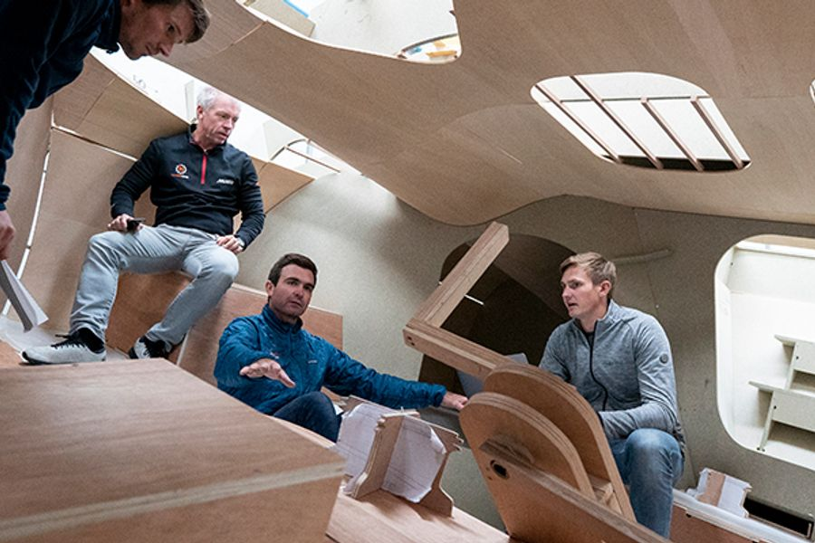 11th Hour Racing IMOCA 60 Boat Build Underway for The Ocean Race