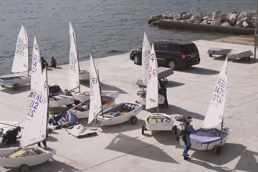 2020 Optimist European Championship officially opened in Slovenia