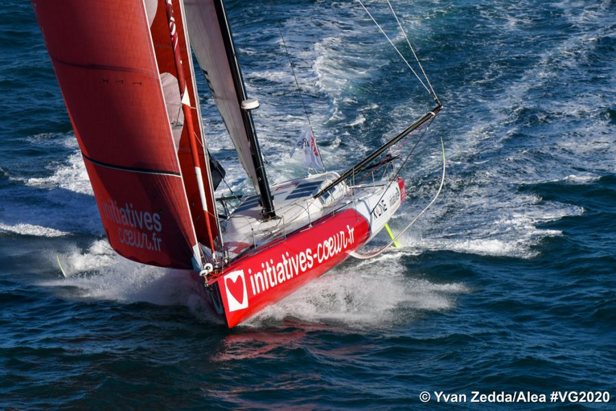 Vendee Globe Fleet Gathering Speed After Delayed Start