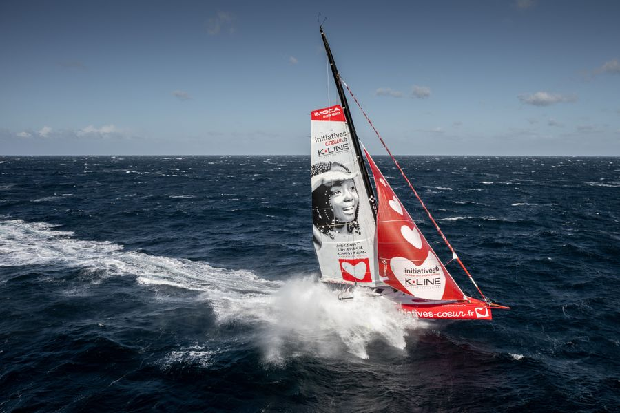 Vendee Globe competitors scattered from St. Helena High to the Indian Ocean