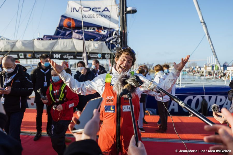 Britain's Merron on course for Vendée Globe finish tomorrow evening