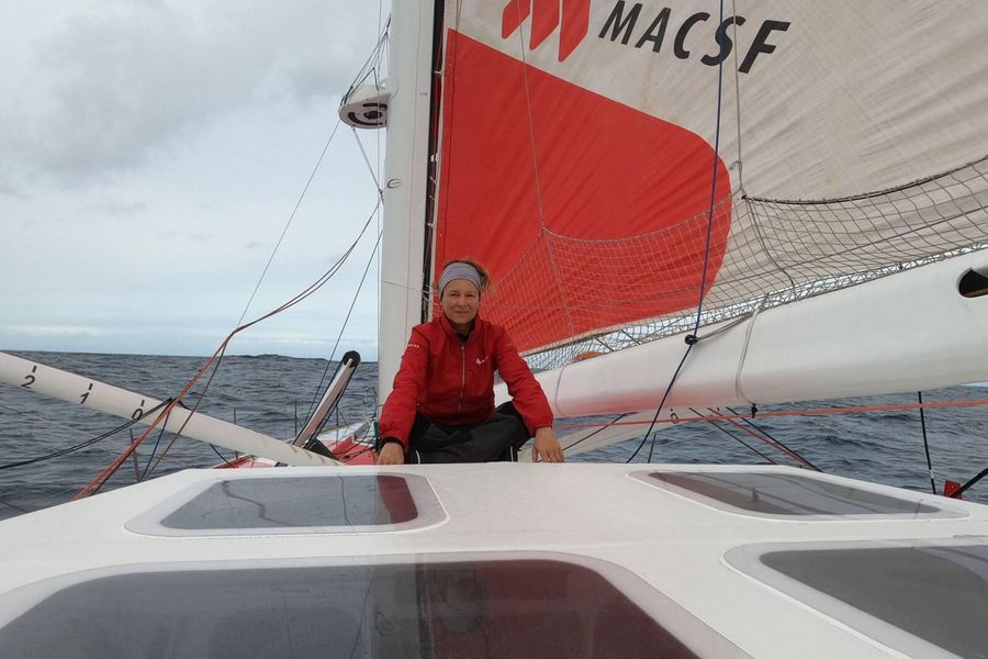 Isabelle Joschke expected to finish Vendee Globe today