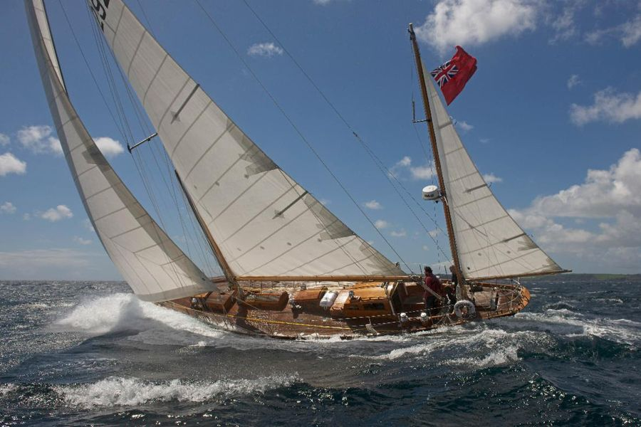 More classic yachts to feature in the Rolex Fastnet Race